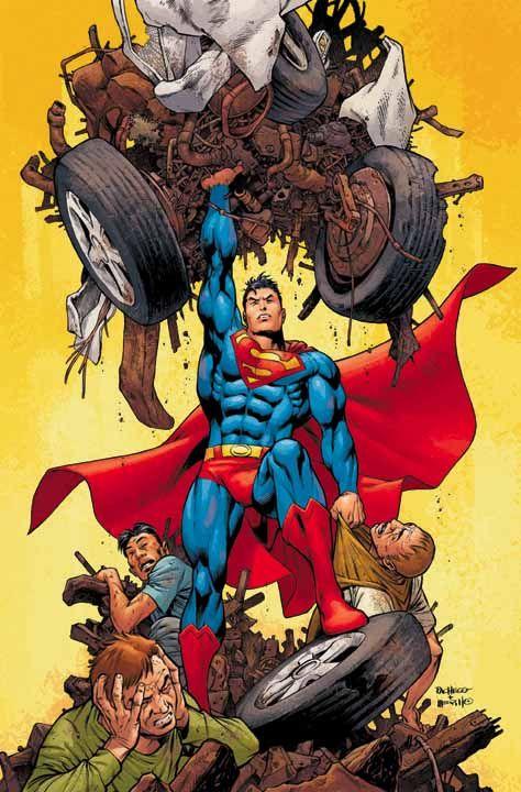 #Superman #Fan #Art. (Superman) By: Carlos Pacheco ...