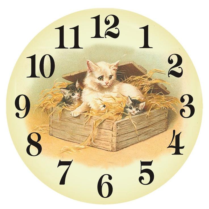 (21) Gallery.ru / Фото #52 - Циферблаты для часов. Схем для вышивки нет…