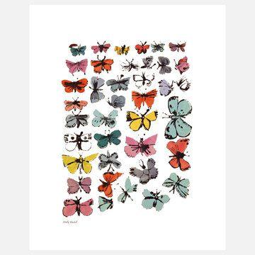Butterflies ~ Andy Warhol, c.1955  #art #mytumblr