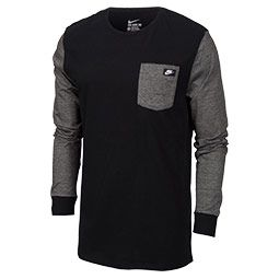 Men's Nike Shoebox Long-sleeve Pocket T-shirt | Finish Line