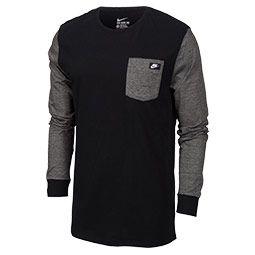 Men's Nike Shoebox Long-sleeve Pocket T-shirt | Finish Line