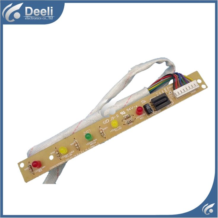 17.10$  Watch here - http://alim7o.shopchina.info/1/go.php?t=32657829989 - 95% new good working for Midea air conditioning receiving board KFR-32G/DY-T6 display board 17.10$ #buymethat