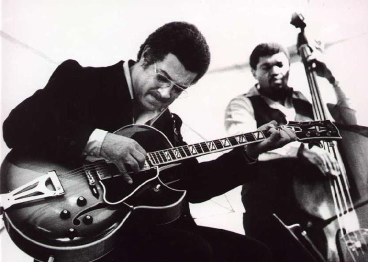 Kenny Burrell could do pretty much anything on his instrument. In jazz, if you needed a guitarist who could ______, you called Mr. Burrell.