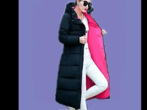 Gizmosy! Winter Jacket Women Down Cotton Coat Slim Fit Parkas Ladies Padded Plus Size Winter Jackets