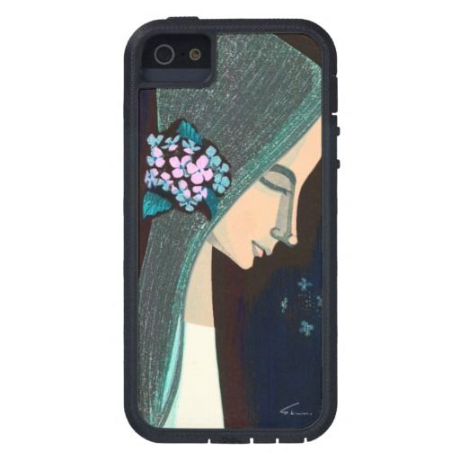 Flower Ornament oriental japanase kawaii girl art iPhone 5/5S Covers