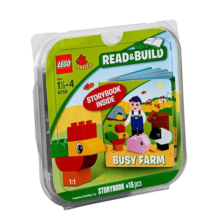 LEGO Duplo Read & Build Busy Farm  #LegoDuploParty