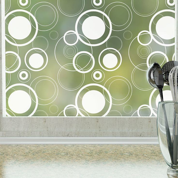 Odhams Press Retro Dots Privacy Window Film