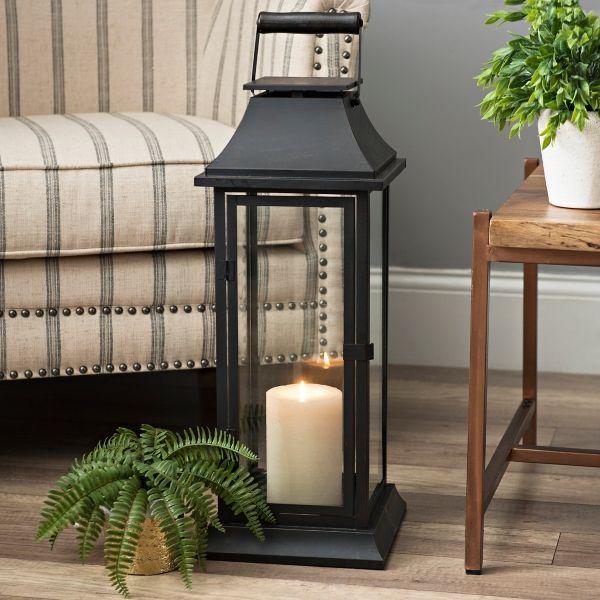 Dark Bronze Metal Lantern | Kirklands | Lanterns decor ... on Lanterns At Kirklands id=41628