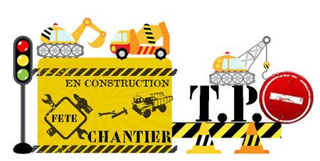 """ATTENTION """"TRAVAUX"""" CHANTIER EN CONSTRUCTION - 1 et 2 et 3 DOUDOUS * PATRONS* PATTERNS * GABARITS FETE A THEMES POUR ENFANTS"""