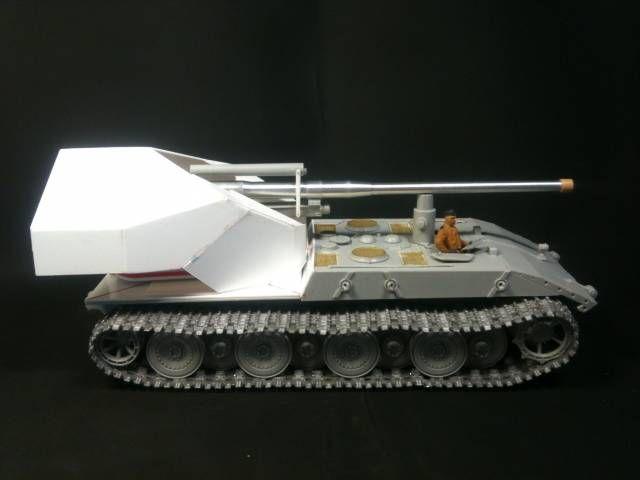 Waffenträger E-100 / качаем вафлю / самодел + trumpeter / 1:35 - В процессе (блоги и незаконченные модели) - Официальный форум игры World of Tanks