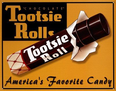 Image result for tootsie rolls 1950