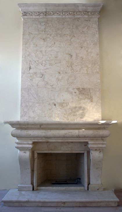 french fireplaces pictures | Classic French Fireplace Mantel Surround Artisan Kraft