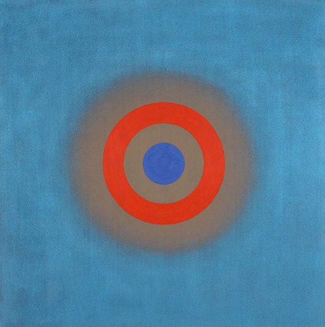 """Кеннет Ноланд (англ. Kenneth Noland; 1924, Эшвилл, штат Северная Каролина — 2010, Порт-Клайд, штат Мэн, США). """"Абстракционизм - abstract art"""" в социальных сетях - http://www.1abstractart.com/---abstract-art"""