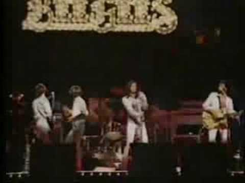 Bee Gees  Andy Gibb You Should Be Dancing.  All four Gibb Brothers together. Just awesome