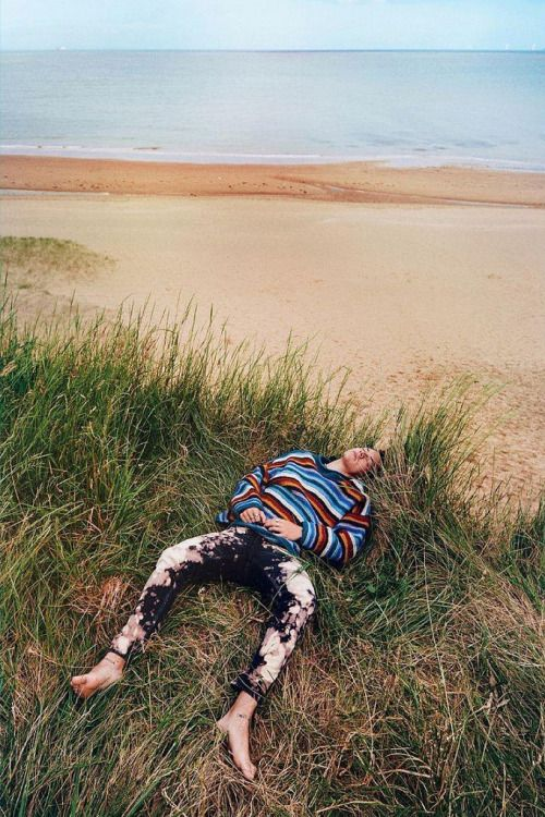 Harry Styles for AnOther Man. Photo by Ryan McGinley. menswear mnswr mens style mens fashion fashion style editorial harrystyles