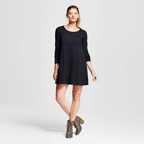 Women's Scoop Neck Swing Dress - Mossimo Supply Co.™ (Juniors') : Target