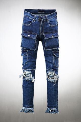 Stitch Point Cargo Pants