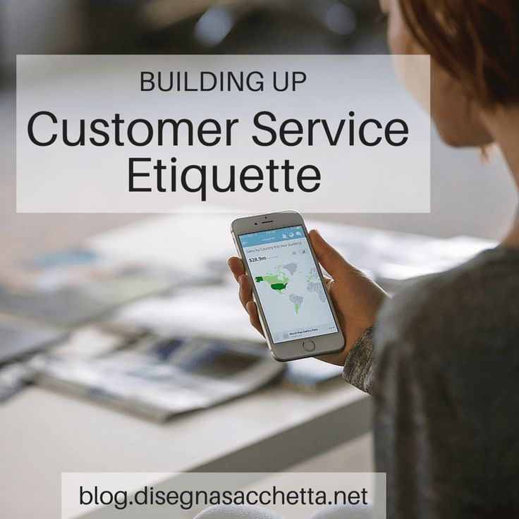 Building Up: Customer Service Etiquette | Meet Domenica