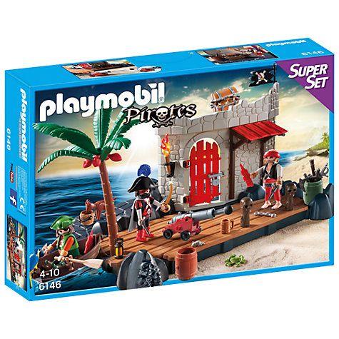 Buy Playmobil Pirates Fort Superset Online at johnlewis.com