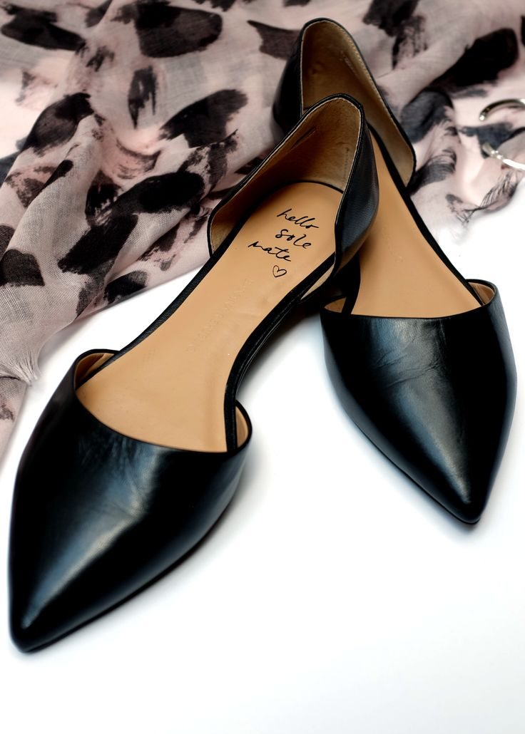 We've found our Sole Mate   Banana Republic's Aiden D'Orsay flats