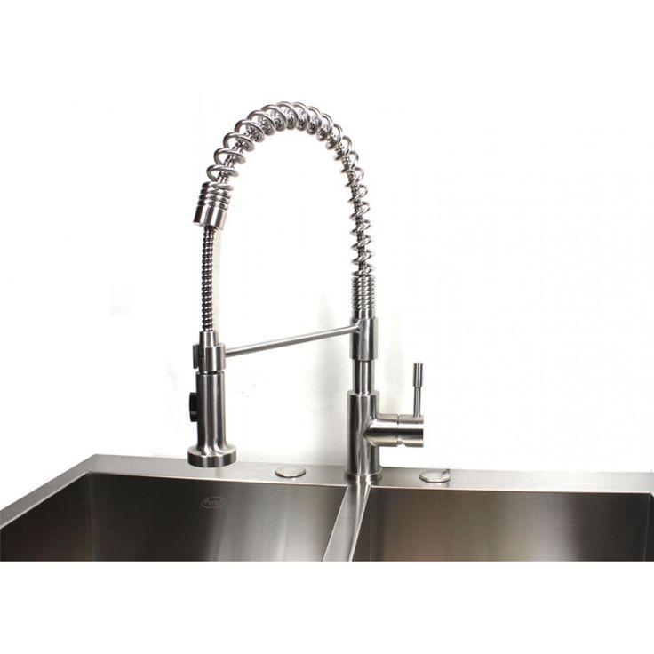 best 25 brushed nickel kitchen faucet ideas on moen