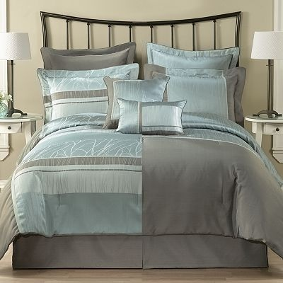 Home Classics Delphine 8 Pc Reversible Comforter Set