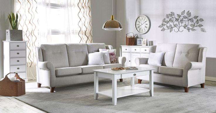 PIHLA 3h sohva, A ryhmän kankaat West kangas, kitti