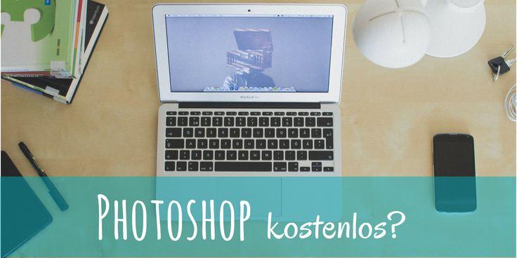 Ein Bildbearbeitungsprogramm kostenlos zu finden ist schwer. Erfahre hier wie Du eine kostenlose Bildbearbeitungssoftware verwenden kannst wie #Photoshop