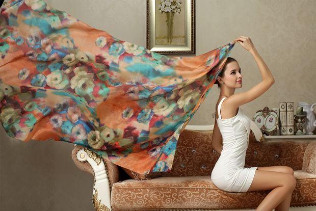 Galore Silk Scarf