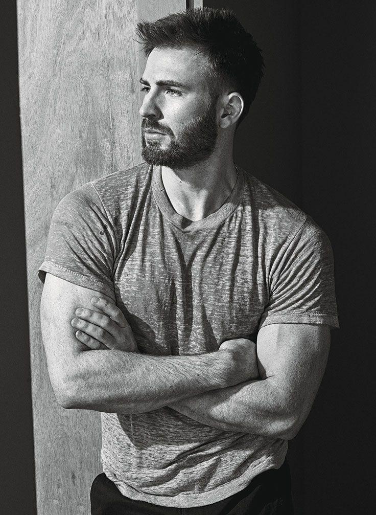 Chris Evans by Mario Sorrenti for W Magazine • 2016