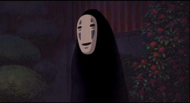 Spirited Away, Character Design- No Face | Movie Monsters ...