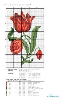 Gallery.ru / Фото #22 - Небольшие схемы с тюльпанами - Kalla