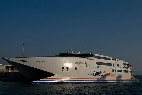 Condor Express A Super Fast Ferry Merchant Ships And