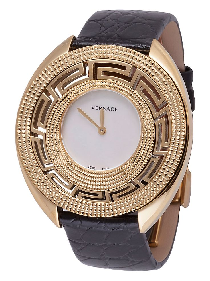 Destiny Gold-Plated Stainless Steel Watch, 40mm by Versace Watches at Gilt
