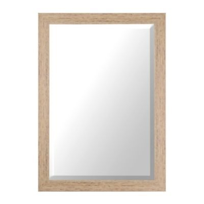 Distressed Cream Framed Mirror, 32x44 in. | Kirkland's