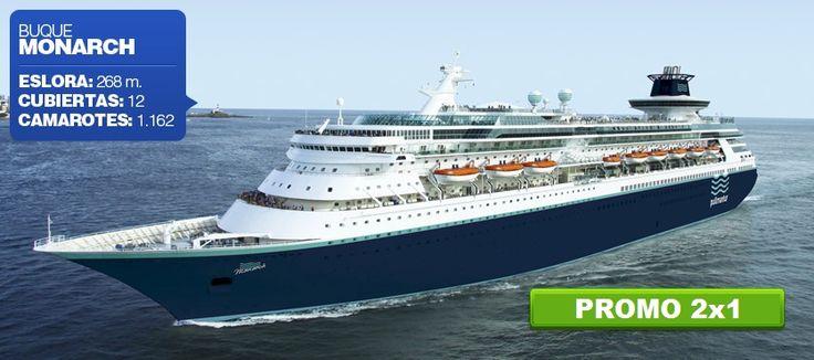 Aún estás a tiempo de subirte a bordo de nuestro buque Monarch y descubrir los encantos del Caribe Maya y Costa Maya. ¡No te quedes sin lugar y reserva ya desde $399* por persona!  *Impuestos y otros cargos no incluidos  #Caribe #Crucero #Promocion #2x1   Colección Turística Agencia de Viajes ▶Santa Genoveva #1430, E ▶Colonia La Purísima,  ▶Guadalupe, N.L. ▶Tel. (81) 8334-4352