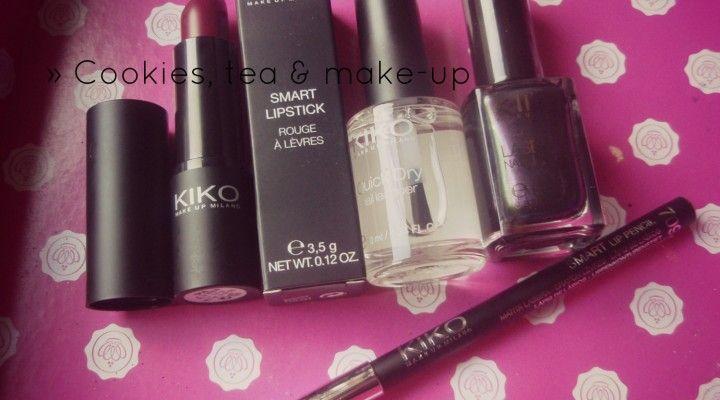 Mini #haul » #Kiko e i #saldi al 50% :) | » Cookies, tea & make-up