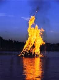 Image result for midsummers bonfire