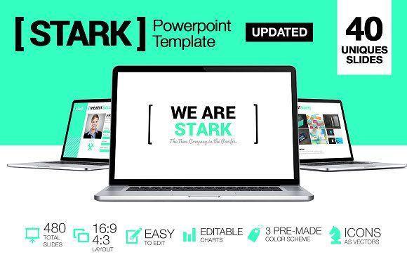 Stark - Powerpoint by Louis Twelve on @creativemarket