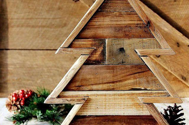 80 best images about no l christmas time on - Fabriquer son sapin de noel en bois ...