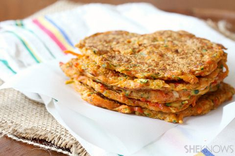 Vegetable Packed Pancakes | ChefMom.com