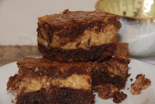 pumpkin cheesecake brownies | brownies | Pinterest