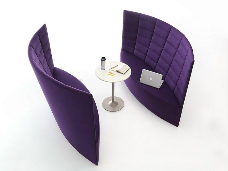High-back leisure sofa PEAK by NURUS | design Aziz Sariyer