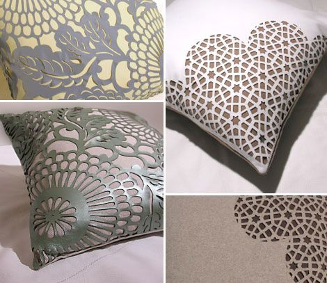 OhJoy! Arabesque Pillows.                                                                                                                                                                                 More
