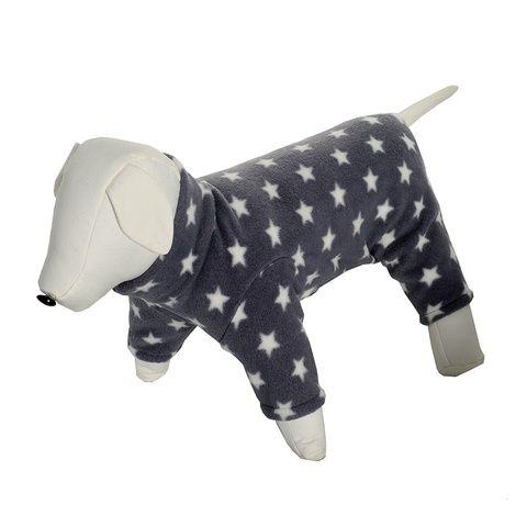 Dog Onesie – Grey Stars