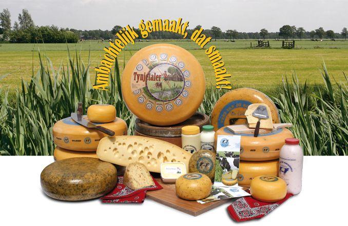 Kaas van boerderij De Gelder; Van Emst; Tijnje
