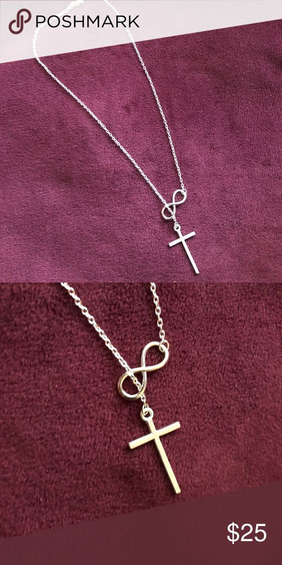 Infinity-Cross Necklace Beautiful** NWOT** Jewelry Necklaces
