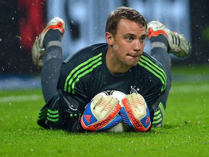 Manuel neuer. German Goalkeeper.