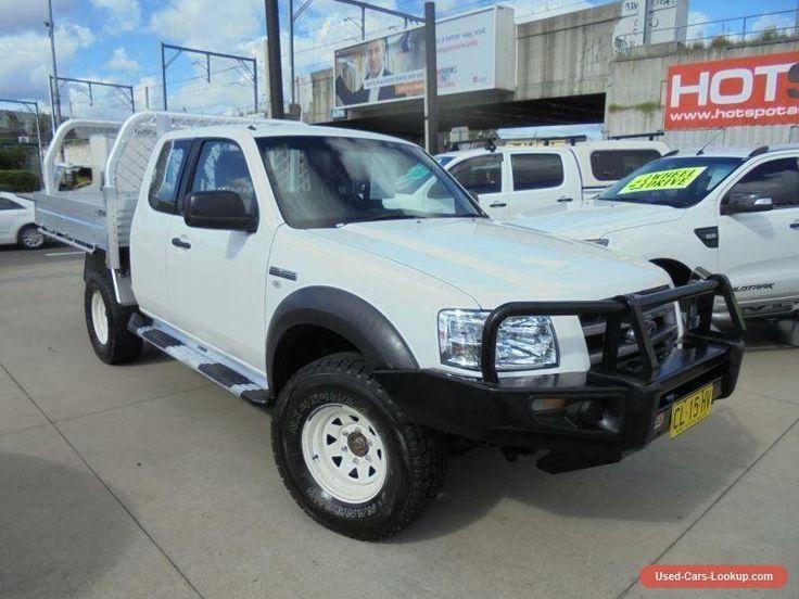 2008 Ford Ranger PJ XL White Manual 5sp M 4D Utility #ford #ranger #forsale #australia