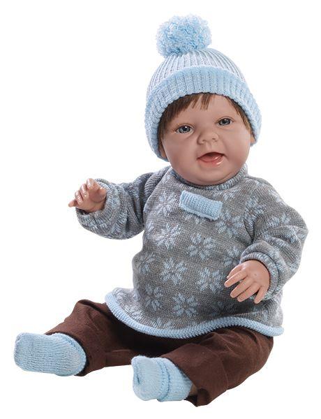 Realistická panenka chlapeček Čestmír od firmy Berjuan ze Španělska